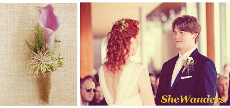 san diego wedding photography, boutonnieres, flower hairpiece