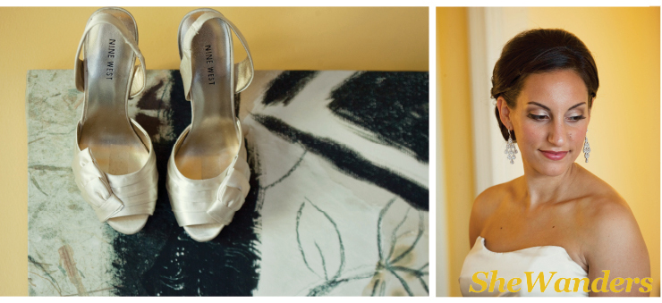 san diego wedding photography, wedding shoes, earrings