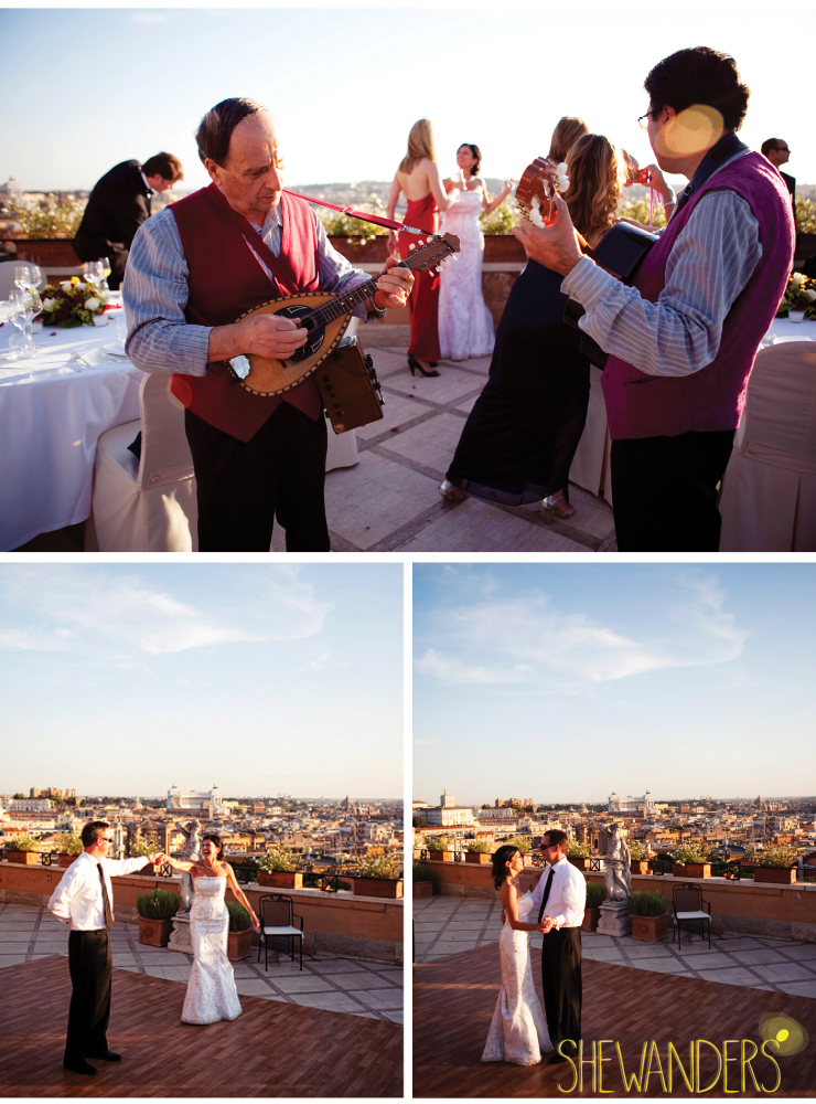 shewanders photography, san diego wedding photography, rooftop wedding, mandolin