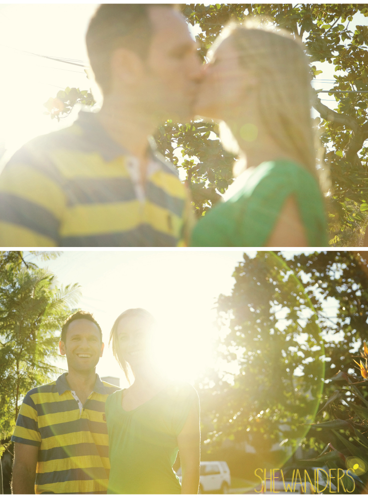 shewanders, san diego engagement photography, sunlight