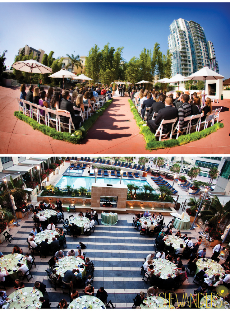 shewanders photography, san diego wedding photography, rooftop wedding