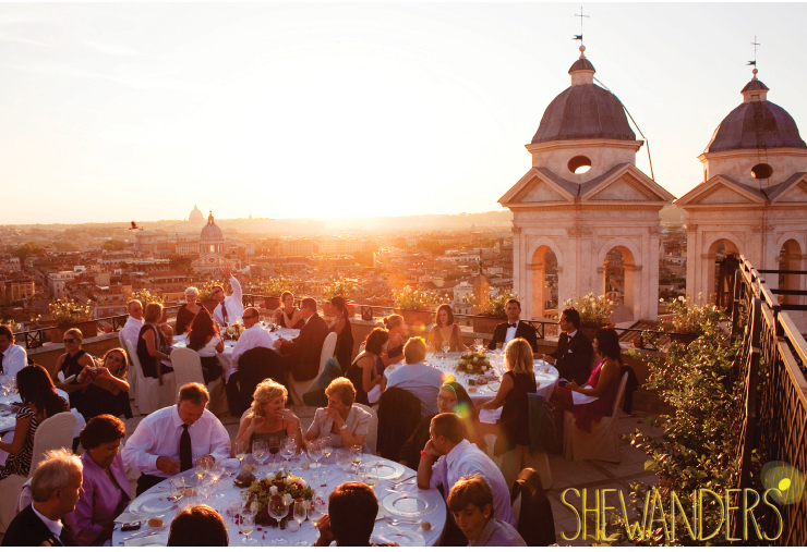 shewanders photography, san diego wedding photography, rooftop wedding, rome