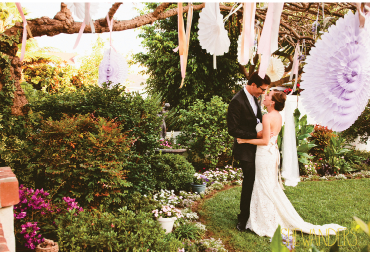 root 75 floral, pinwheels, coronado wedding photographer, backyard wedding, estate wedding, coronado marriot