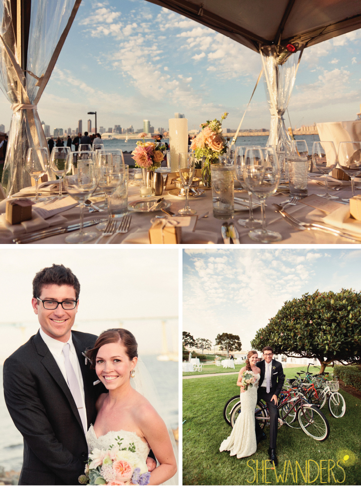 wedding reception details, bride and groom, coronado wedding photographer, san diego vintage wedding photography, shewanders photography