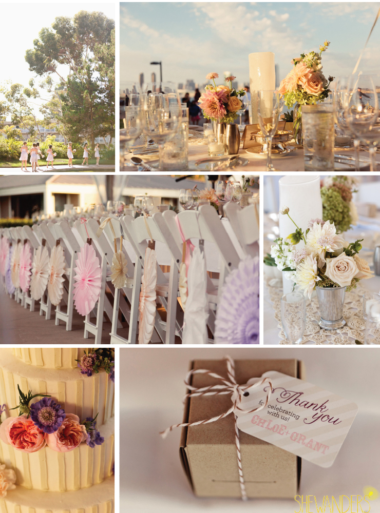 wedding decorations, coronado wedding photographer, san diego vintage wedding photography, shewanders photography