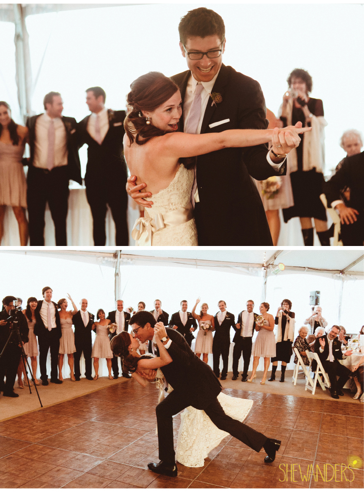 bride and groom, first dance for bride and groom, coronado wedding photographer, san diego vintage wedding photography, shewanders photography