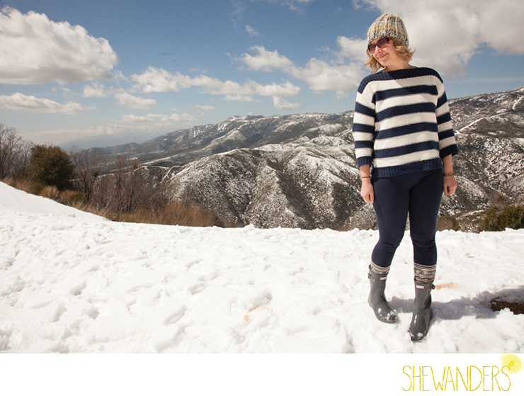 shewanders photography, Big Bear, mountain, snow, top of mountain