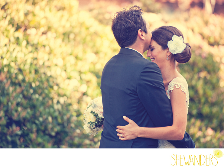 shewanders photography, balboa park, san diego, bride and groom, embrace