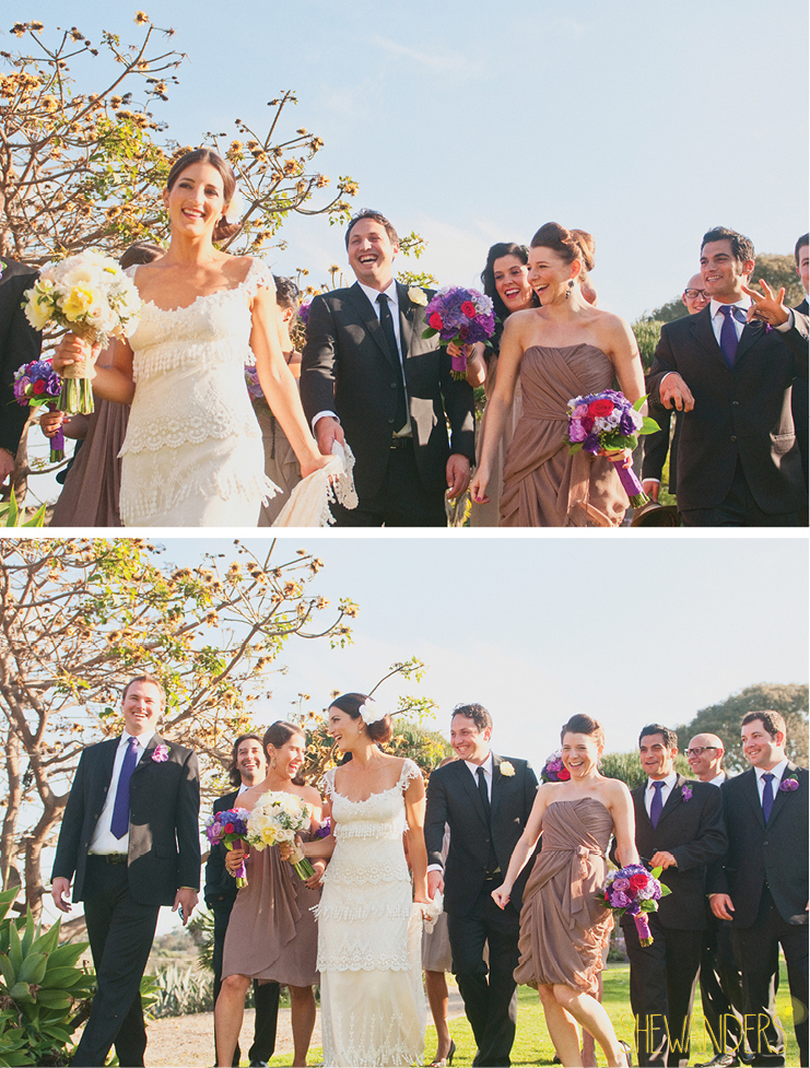 shewanders photography, balboa park, san diego, bride and groom, wedding party