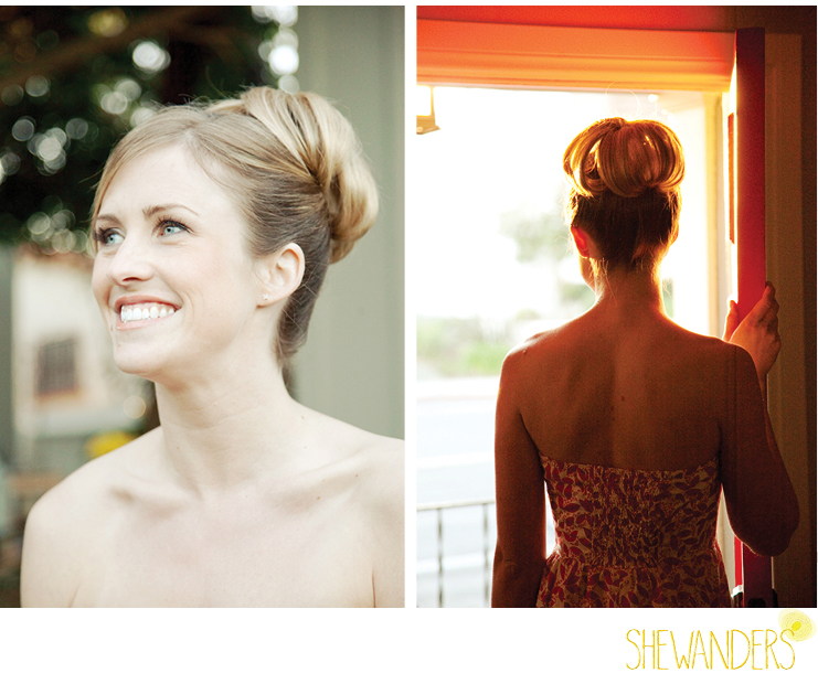 shewanders photography, bride, hair, updo