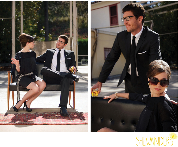 shewanders photography, mad men, engagement