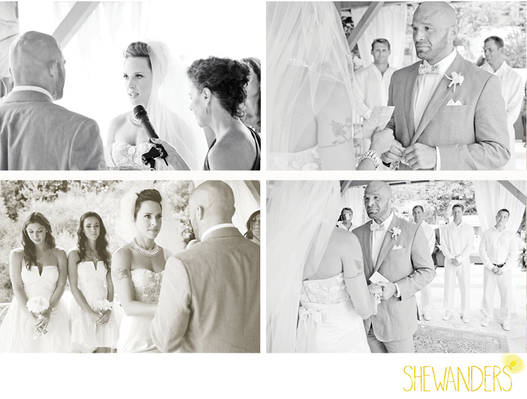 shewanders photography, wedding, vows, emotional
