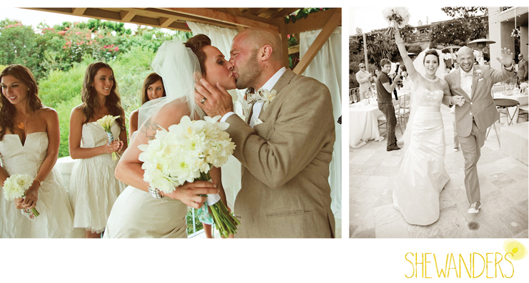 shewanders photography, wedding, ceremony, groom, bride, vows, kiss