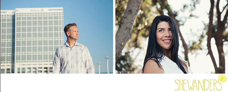 shewanders photography, san diego engagement photography, two cute people