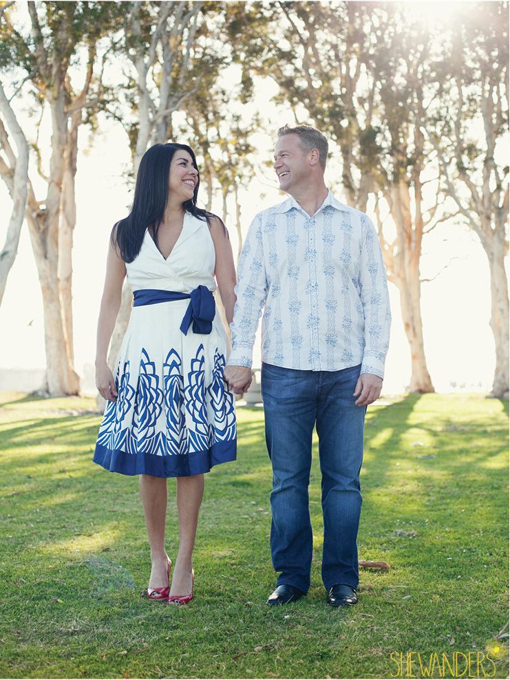 shewanders photography, san diego engagement photography, blue prints