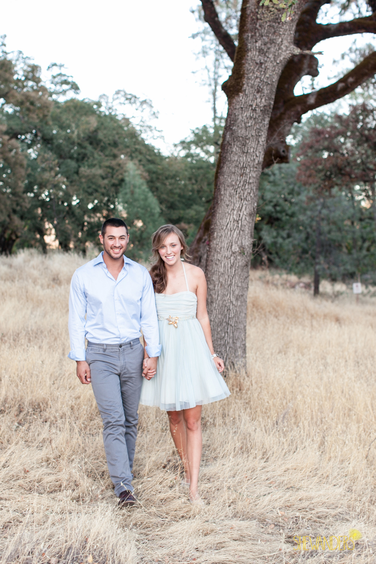 shewanders photography san diego wedding photography napa engagement photography light blue engagement dress beautiful couple acorns jose villa