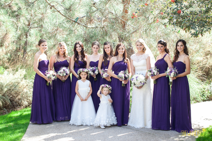 shewanders photography, wedding photography, portrait photography, portraits, groom, bride, black and white, purple and white wedding, gorgeous bride, bridesmaids, flowergirl, floral crowns