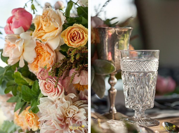 side by side, beautiful, edgy, gorgeous, glass, la jolla wedding photography, shewanders wedding photography, luxe events, blush botanicals, brightly designed, la jolla beach and tennis club, exquisite weddings.