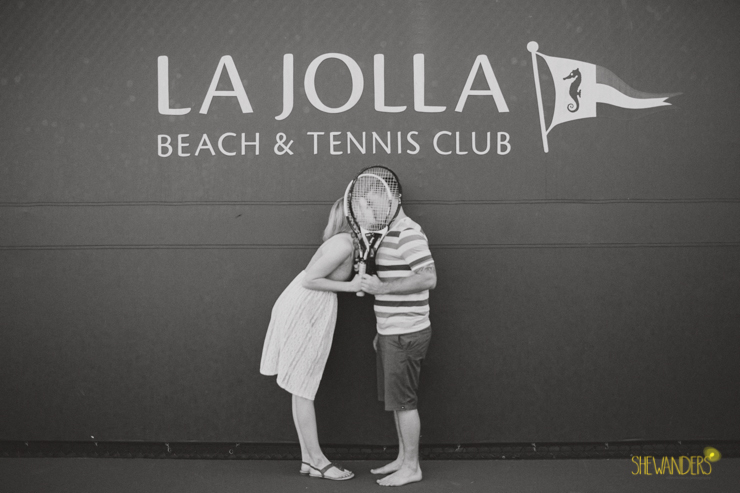 la jolla beach and tennis club shewanders, shewanders engagement photography