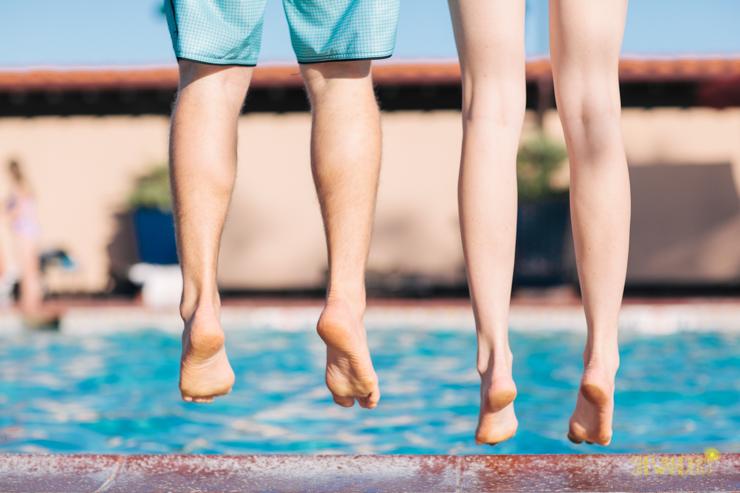 jump i the pool