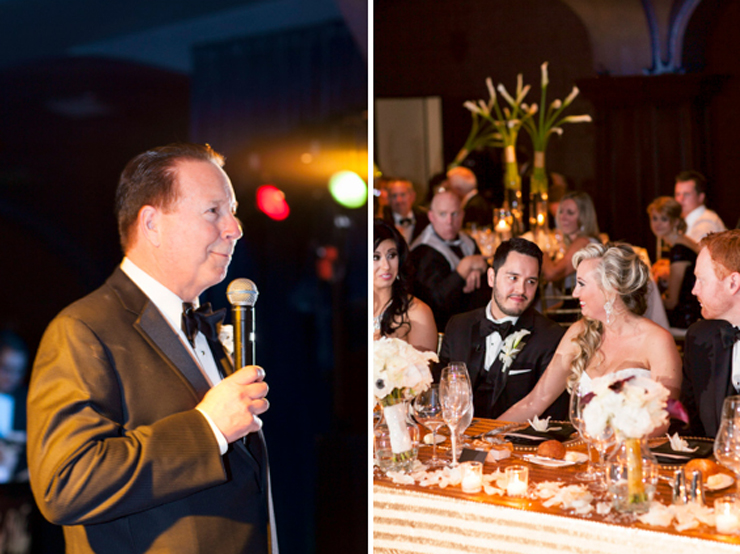speeches, us grant hotel wedding photography, san diego wedding photography, shewanders wedding photography