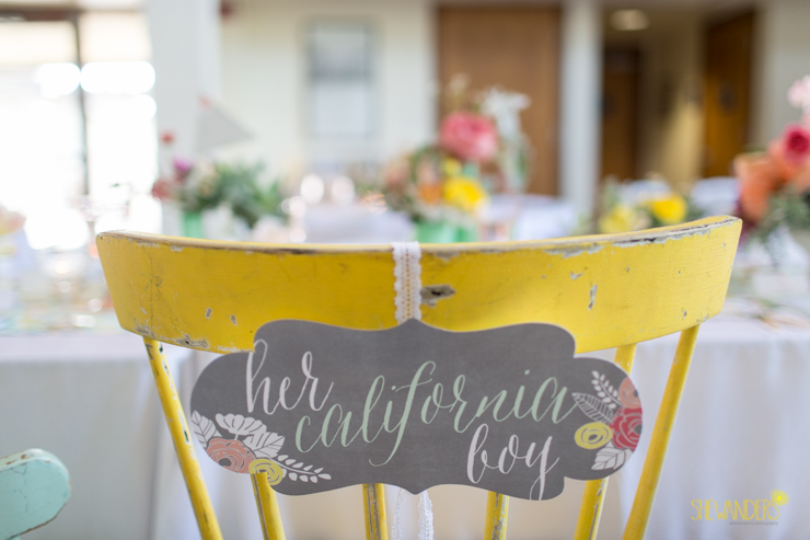 chair, yellow,del mar wedding photography, shewanders wedding photography, root 75, luxe events, miho gastropub,