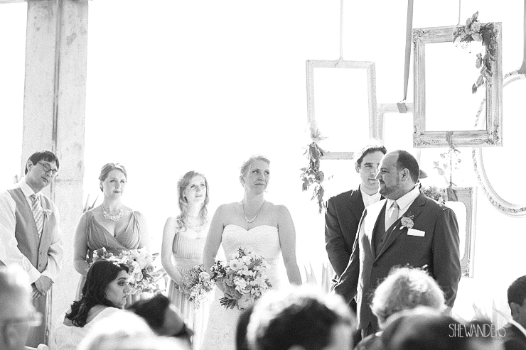 black and white, bride, groom, ceremony,del mar wedding photography, shewanders wedding photography, root 75, luxe events, miho gastropub,