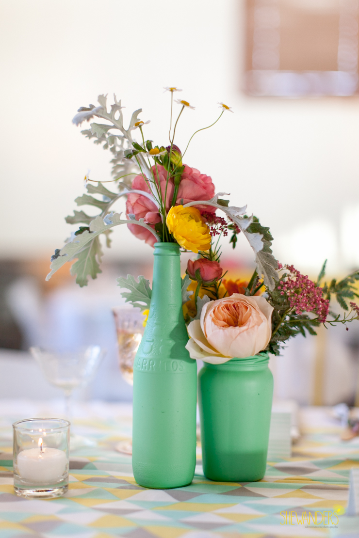 centerpiece, floral, flowers, mint,del mar wedding photography, shewanders wedding photography, root 75, luxe events, miho gastropub,