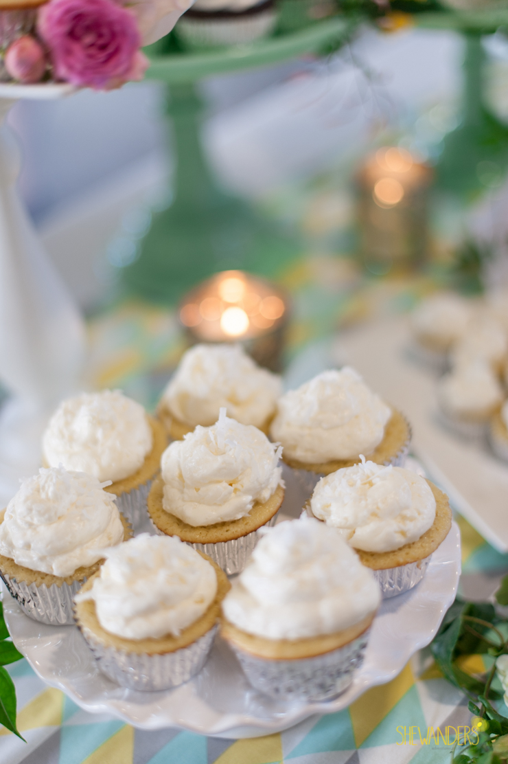 cupcakes, sweets, dessert, baking,del mar wedding photography, shewanders wedding photography, root 75, luxe events, miho gastropub,