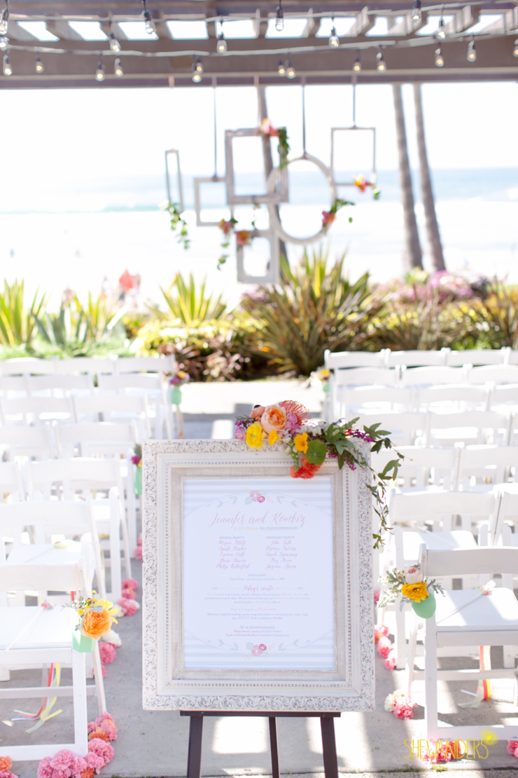 wedding ceremony,del mar wedding photography, shewanders wedding photography, root 75, luxe events, miho gastropub,