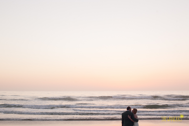 sunset, bride, groom,del mar wedding photography, shewanders wedding photography, root 75, luxe events, miho gastropub, beach