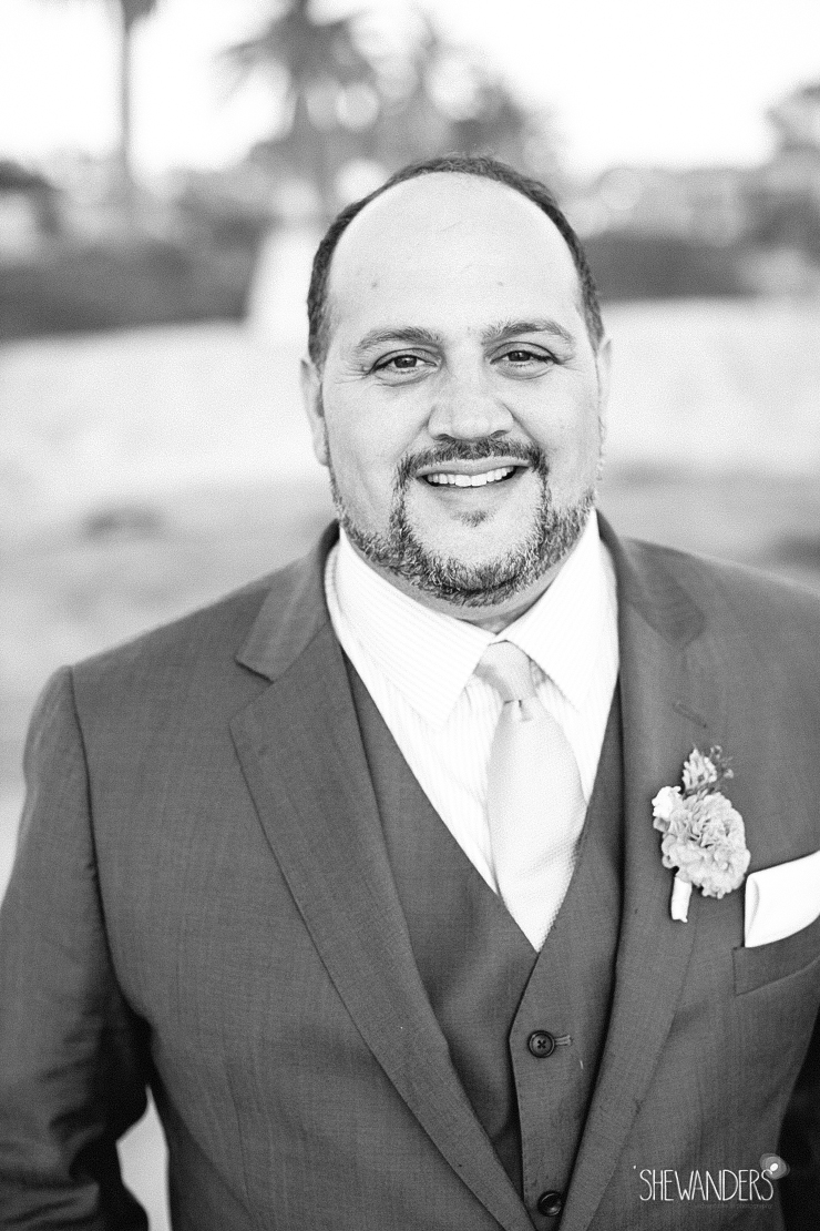 groom, black and white, boutonniere, del mar wedding photography, shewanders wedding photography, root 75, luxe events, miho gastropub,