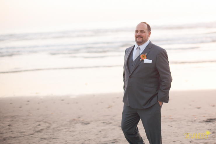 groom, beach, grey suit,del mar wedding photography, shewanders wedding photography, root 75, luxe events, miho gastropub,