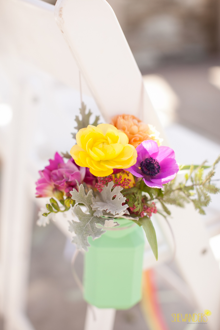 floral, flowers, yellow, purple, mint,del mar wedding photography, shewanders wedding photography, root 75, luxe events, miho gastropub,