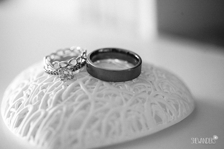 wedding rings, ring, black and white,del mar wedding photography, shewanders wedding photography, root 75, luxe events, miho gastropub,