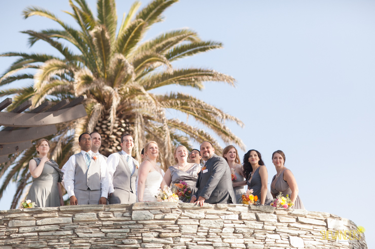 bridal party, groomsmen, bride, groom, bridesmaids,del mar wedding photography, shewanders wedding photography, root 75, luxe events, miho gastropub,