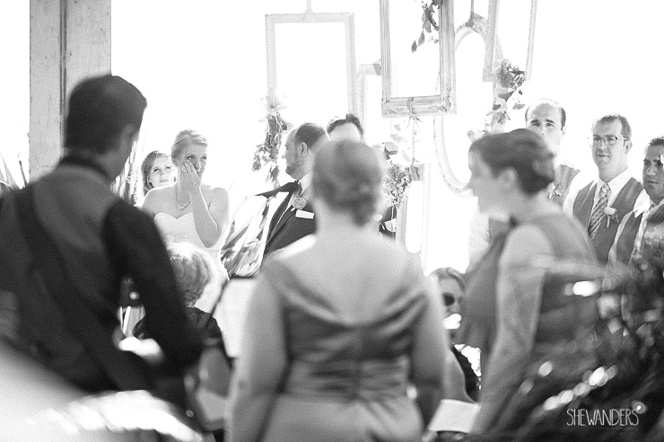 black and white, wedding ceremony,del mar wedding photography, shewanders wedding photography, root 75, luxe events, miho gastropub,
