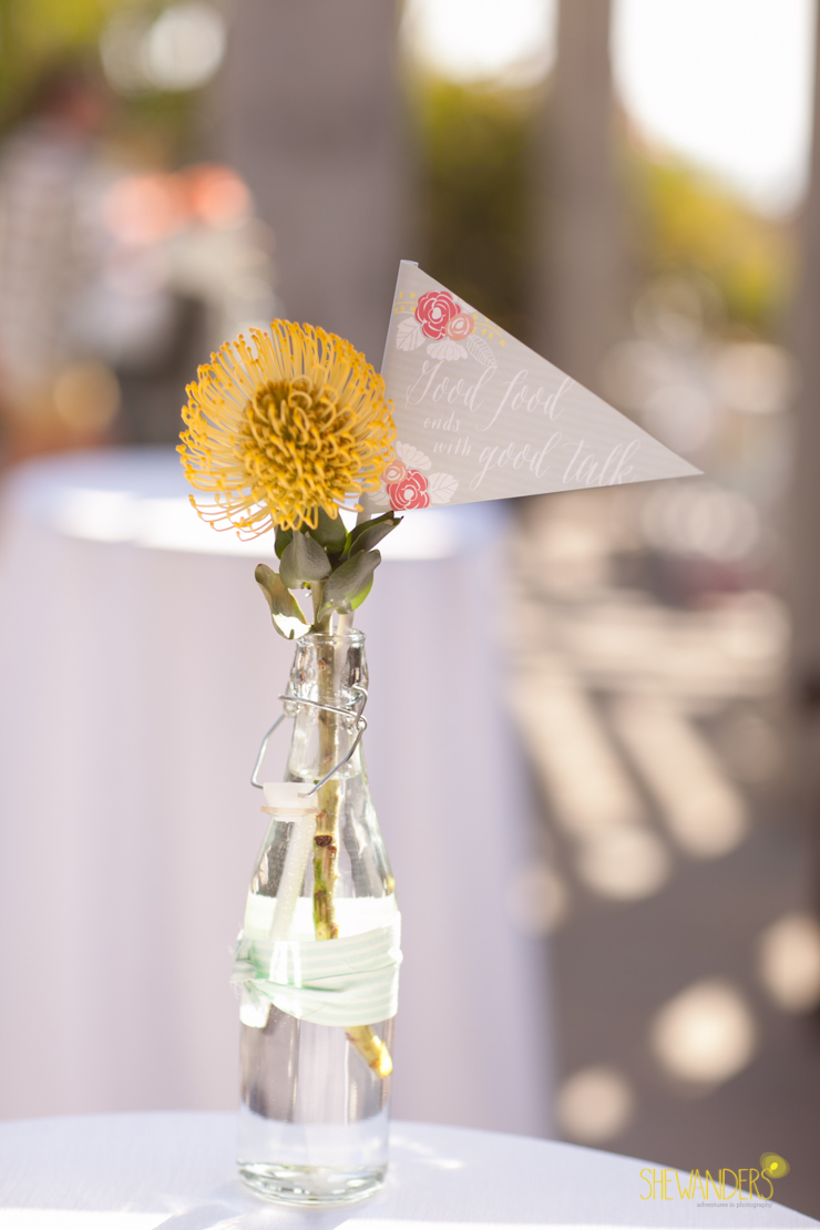 floral, centerpiece,del mar wedding photography, shewanders wedding photography, root 75, luxe events, miho gastropub,