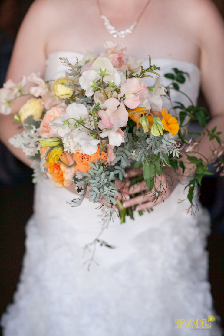 bouquet, wedding dress, bride,del mar wedding photography, shewanders wedding photography, root 75, luxe events, miho gastropub,