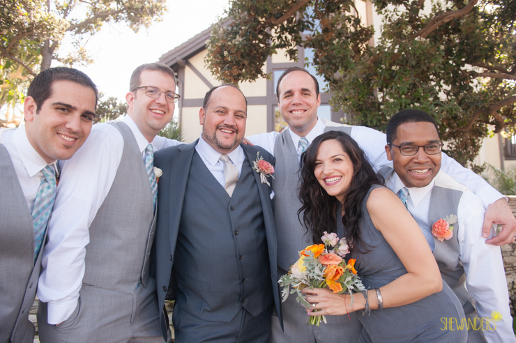 groomsmen, groom, bridesmaids,del mar wedding photography, shewanders wedding photography, root 75, luxe events, miho gastropub,