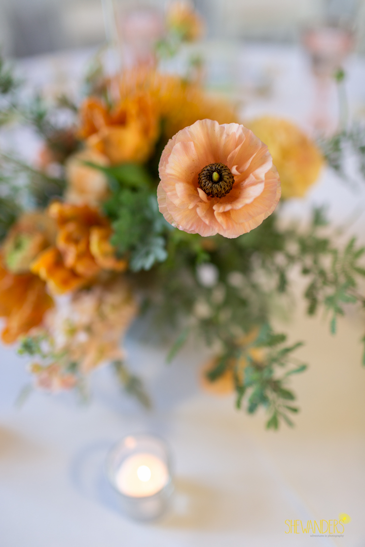 flowers, floral,del mar wedding photography, shewanders wedding photography, root 75, luxe events, miho gastropub,