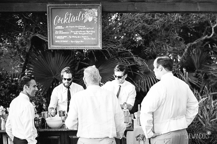 black and white, bartenders, bar, drinks, cocktails,del mar wedding photography, shewanders wedding photography, root 75, luxe events, miho gastropub,