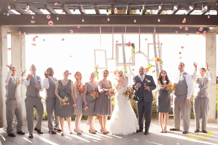 del mar wedding photography, shewanders wedding photography, root 75, luxe events, miho gastropub,  bridesmaids, bride, groom, groomsmen