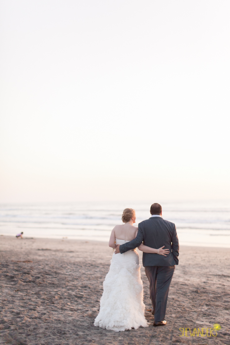 bride, groom, beach, sunset,del mar wedding photography, shewanders wedding photography, root 75, luxe events, miho gastropub,