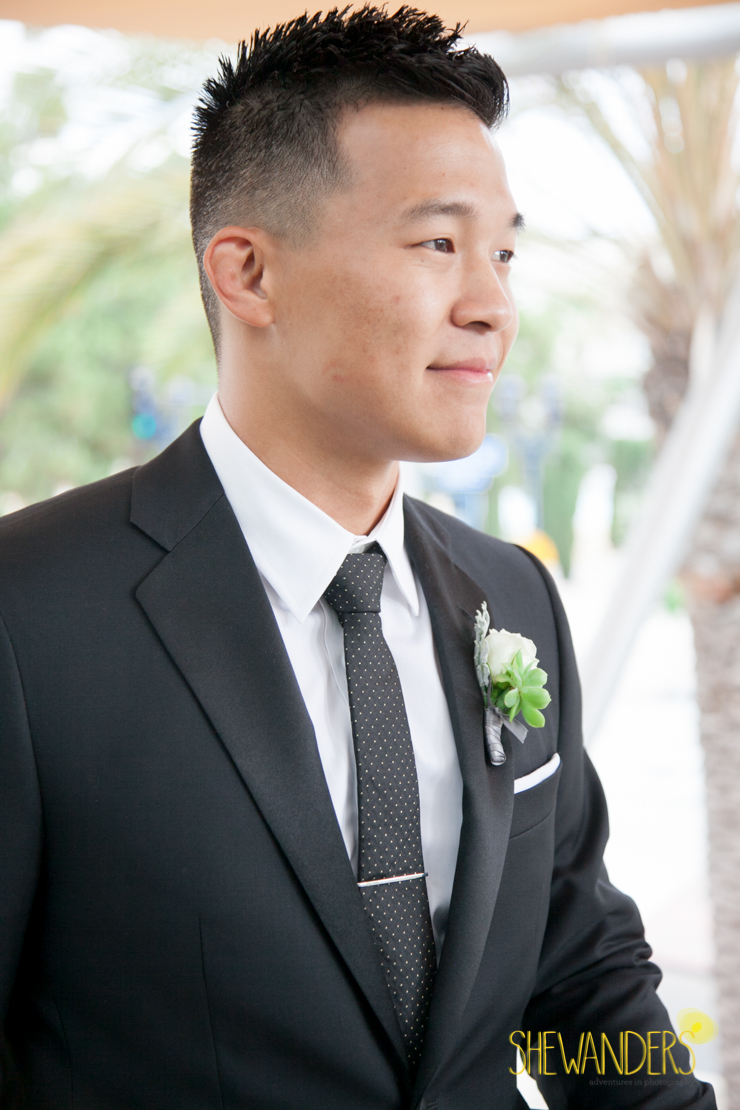 handsome groom, san diego new childrens museum, shewanders photography, luxe events, root 75