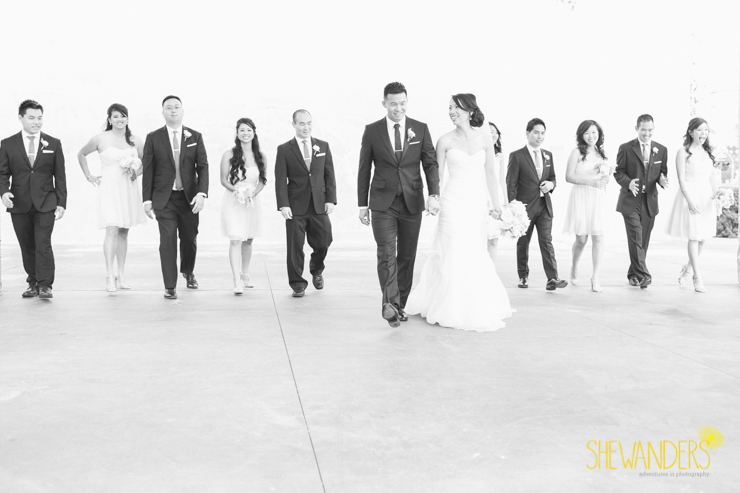 rad bridal party, san diego new childrens museum, shewanders photography, luxe events, root 75