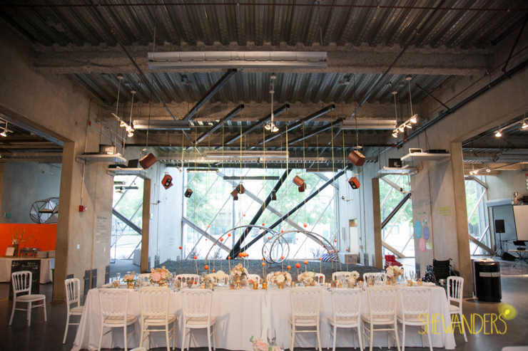 love this reception, san diego new childrens museum, shewanders photography, luxe events, root 75