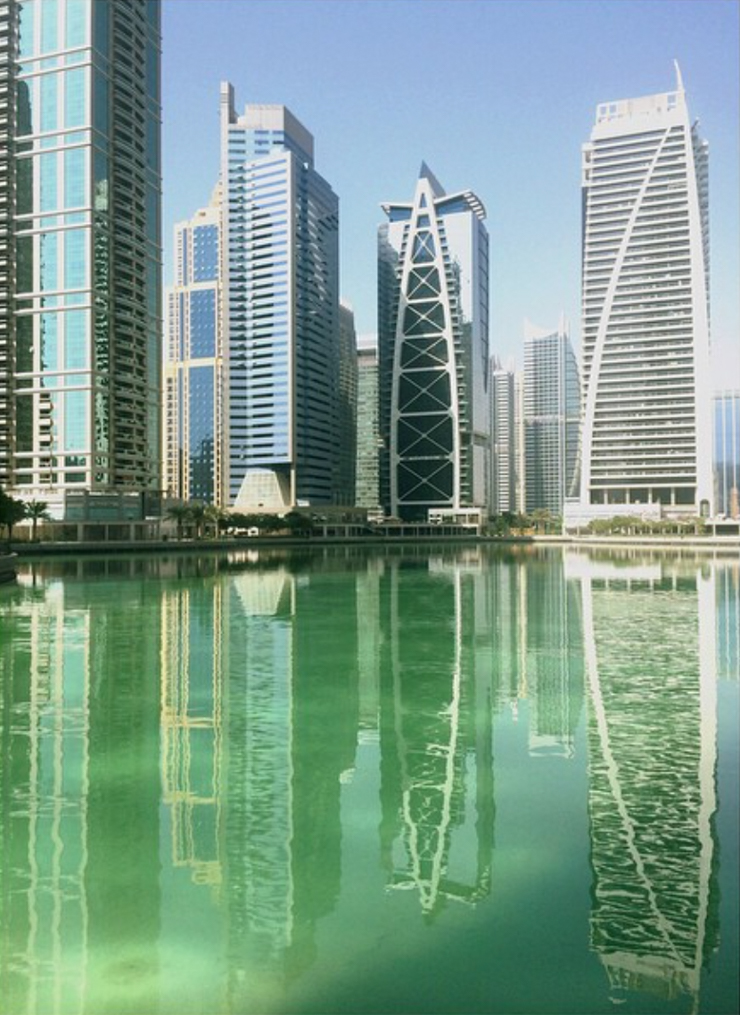 Architecture Dubai Reflection Shewanders