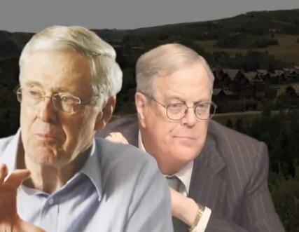 American Bridge Targets Koch Brothers