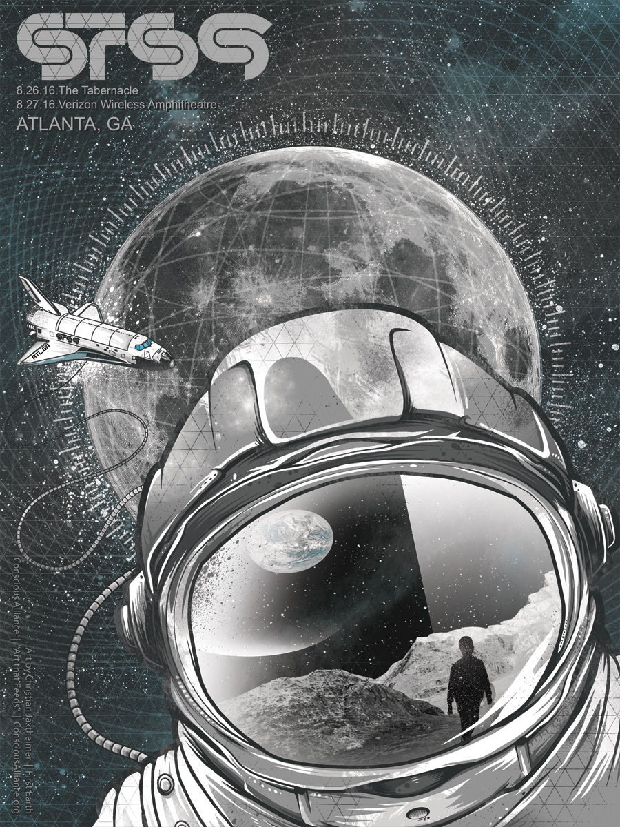 STS9 ATL 2016 - Screenprint